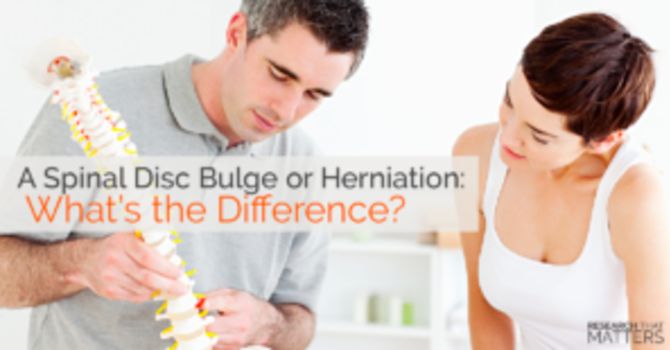 A Spinal Disc Bulge or Herniation: What's the Difference? image