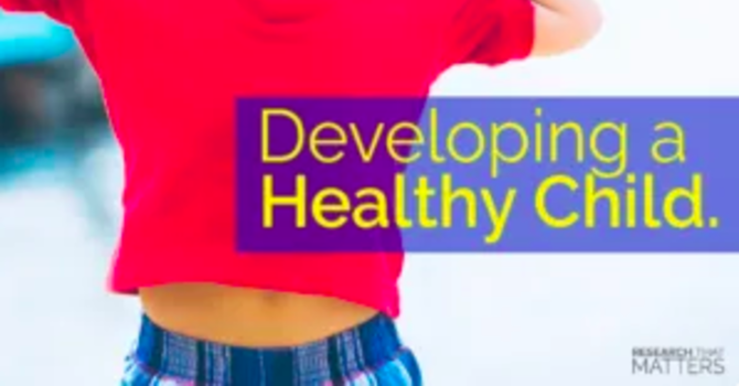 Developing A Healthy Child image